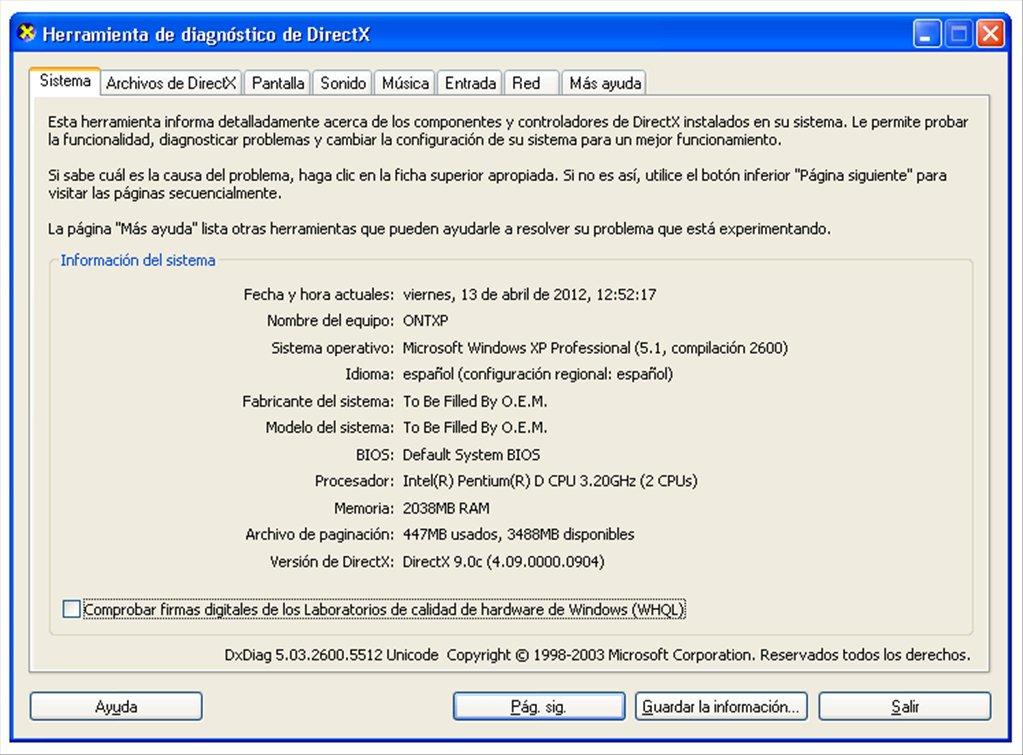 directx 9.0c windows 10