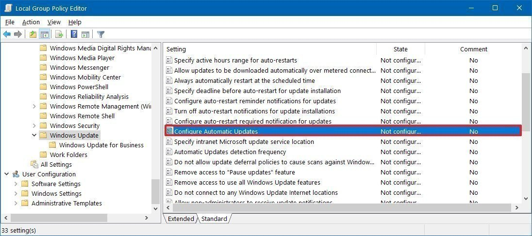 how to disable automatic updates windows 10