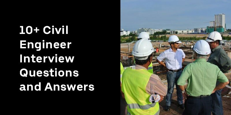 Civil Engineer Interview Questions