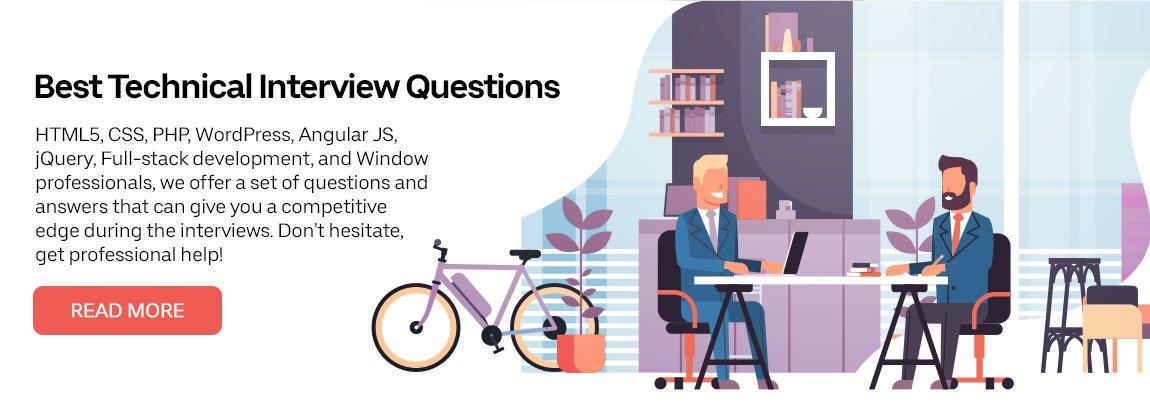 Best Technical Interview Questions