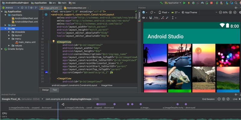 Android Studio Android Emulators for Windows