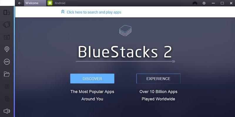 Bluestacks Android Emulators for Windows