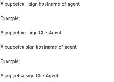 command to sign requested certificates
