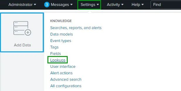 Creating a lookup file in Splunk