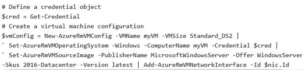 5. How can one create a Virtual Machine in Powershell