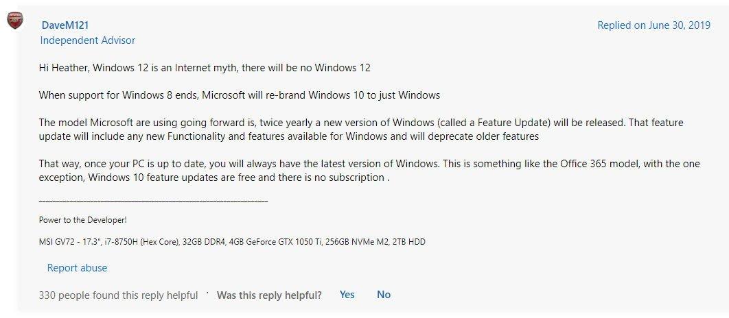 Windows 12 Release Date