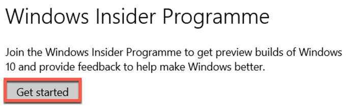 Windows-Insider-Programm