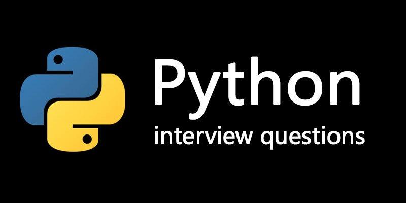 Top 30+ Advance Python Interview Questions | HTML KICK