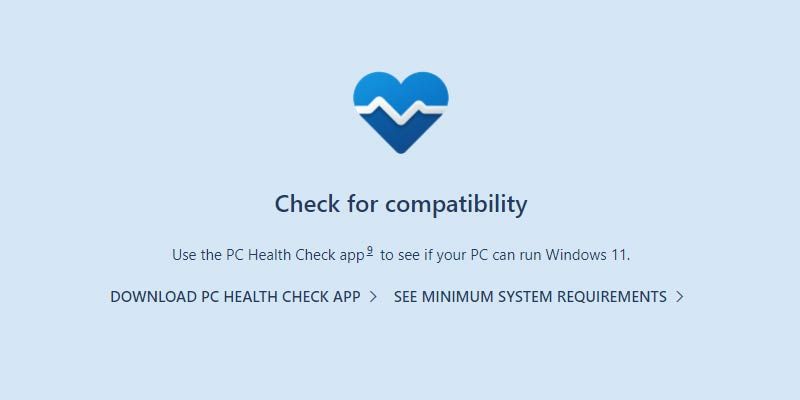 Download Windows 11 Compatibility Tool